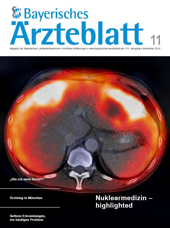 Die November-Ausgabe des Bayerischen Ärzteblattes ist erschienen.