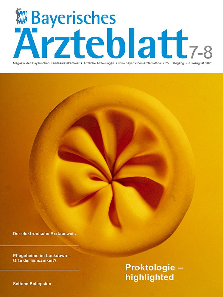 Die Juli/August-Ausgabe des Bayerischen Ärzteblattes ist erschienen.