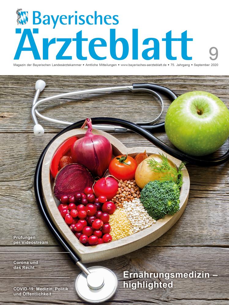 Die September-Ausgabe des Bayerischen Ärzteblattes ist erschienen.