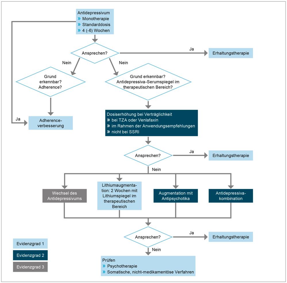 S3-Leitlinie/Nationale VersorgungsLeitlinie Unipolare