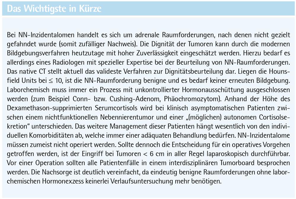 Erste Europäische Leitlinie zum Nebennieren-Inzidentalom ...