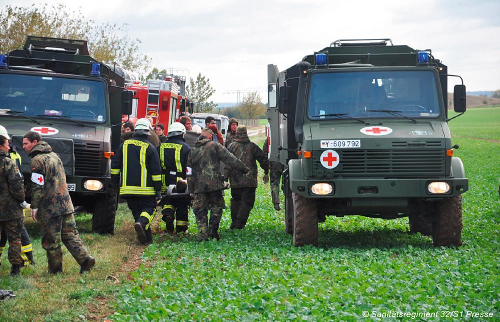 Sanitäter logo bundeswehr  Zivil-Militärische Zusammenarbeit im Sanitätsdienst der Bundeswehr ...
